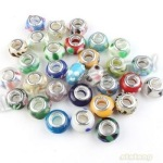 Glass BeadsMetal Lined, Assorted Colors, 18 per pkgBuy Now