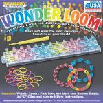 Wonder Loom Kit Includes: Wonder Loom, Pick tool, 600 latex rubber bands, 24 clips Buy Now